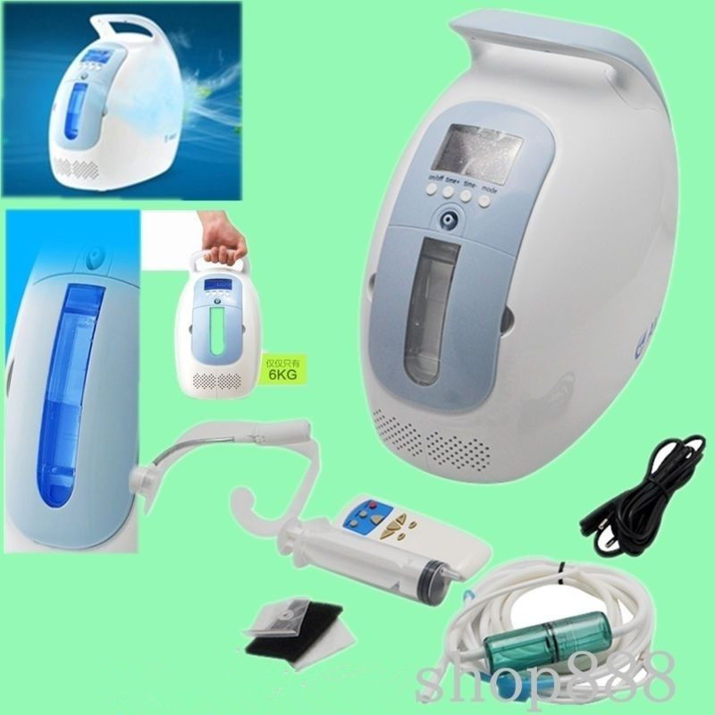 Portable Family Oxygen Concentrator Humidifier With Outer Handle